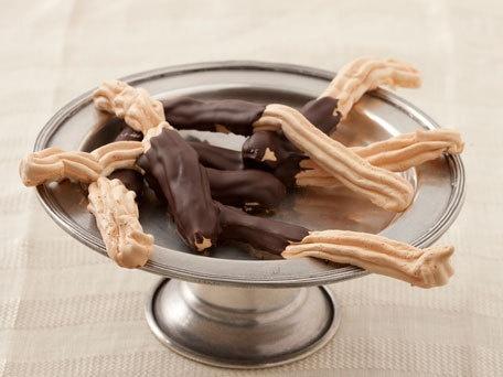 Chocolate-Dipped Meringues | Recipe