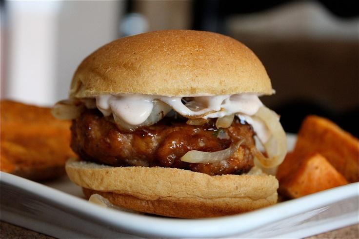 Smoky BBQ Turkey Burger Sliders