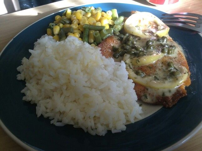 Tilapia Piccata | Made by me | Pinterest