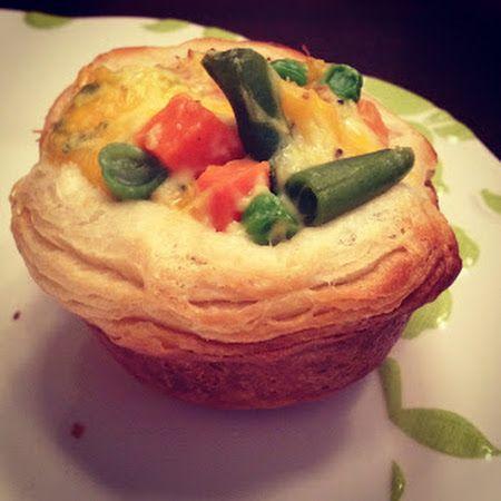 Chicken Pot Pie Cupcakes | Yumi | Pinterest