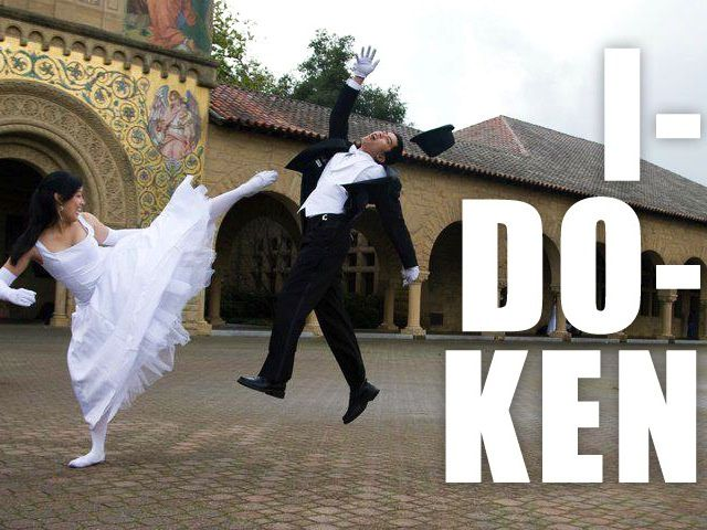 The Best (Fake) Video Game Wedding Picture Ever?
