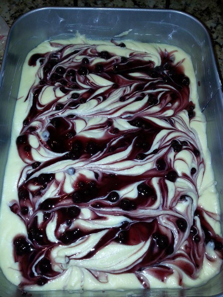 Blueberry Mochi Cake | Grub | Pinterest