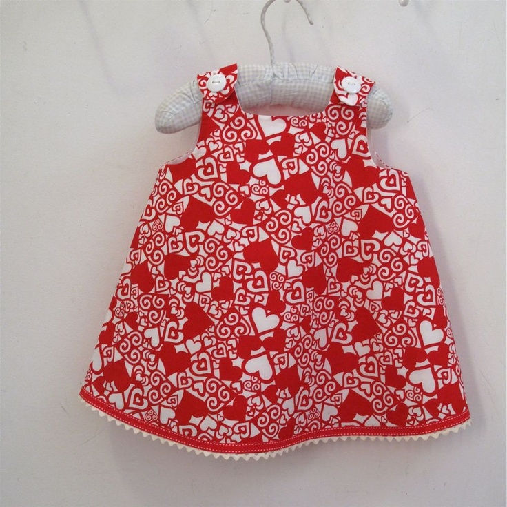 valentines day dress baby girl