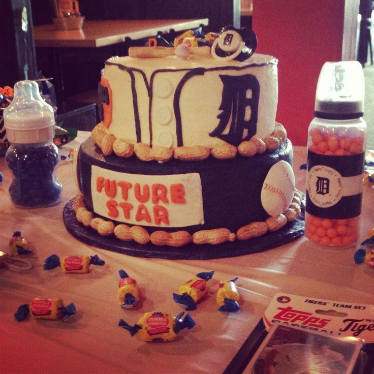 Baseball Jersey Cakes Baseball Baby Shower Cake