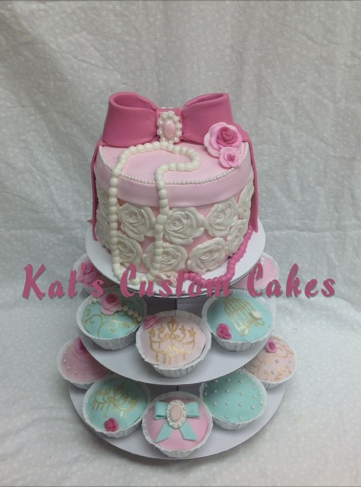 elegant baby shower cake and cupcakes my favorite cakes pinterest