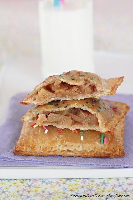 Frosted Caramel Apple Pop-Tarts | Recipes | Pinterest