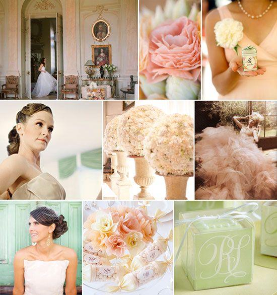 Peach And Mint Green So So So Pretty