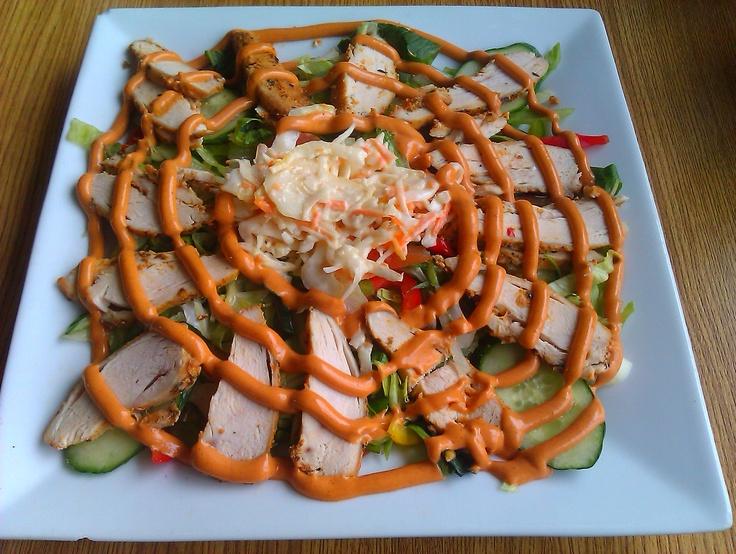 chicken tikka salad | Low Carb | Pinterest