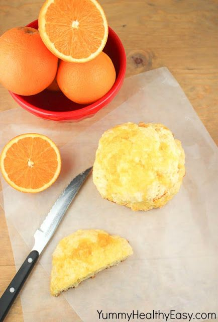 Glazed Orange Scones | Recipe