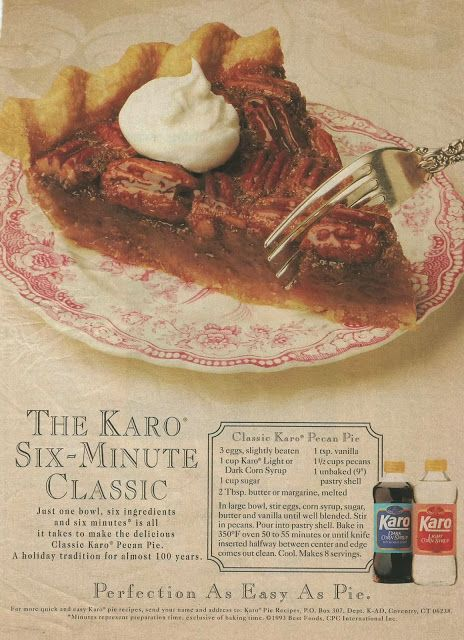 Classic Pecan Pie by Karo Syrup. The best Pecan Pie ever. We have used ...