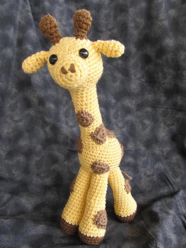 Amigurumi Giraffe Free Crochet Pattern : Giraffie Giraffe Crochet Amigurumi Pattern