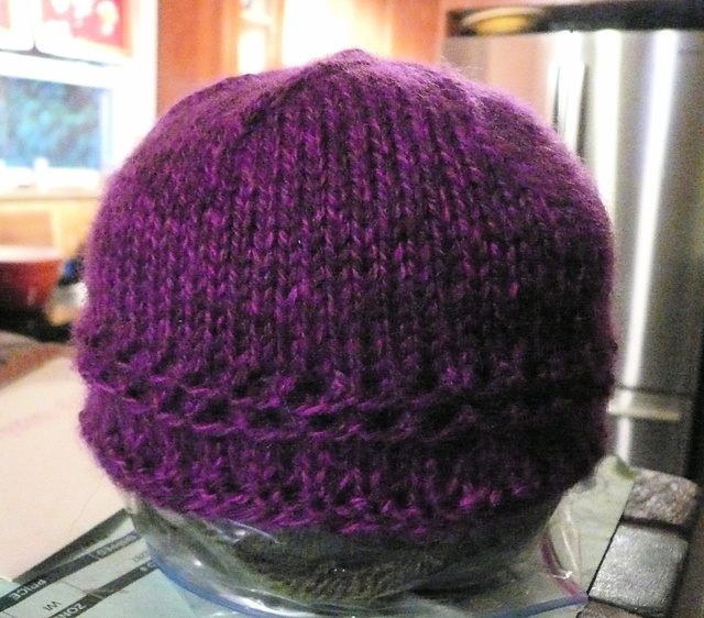 Simple Baby Hat Knitting Pattern In The Round : Quick and easy baby hat KNIT Pinterest