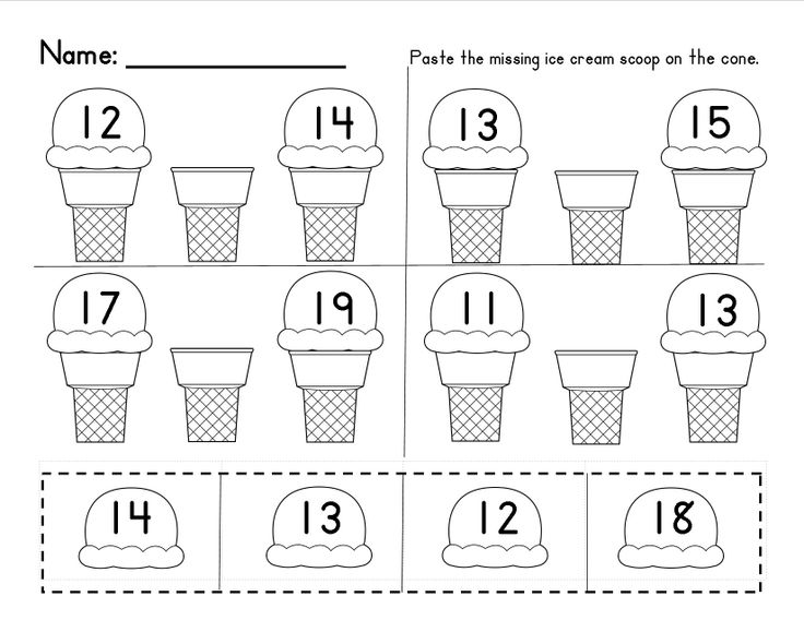 Free Worksheets Numbers To 20 Worksheets Free Math Worksheets – Missing Number Worksheets