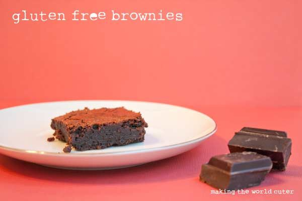Gluten Free Brownies   Flourless, Chewy, Fudgy and Delicious