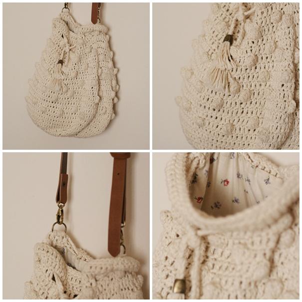 Crochet Boho Bag Pattern : Patron de bolso boho en crochet * Free crochet boho bag pattern