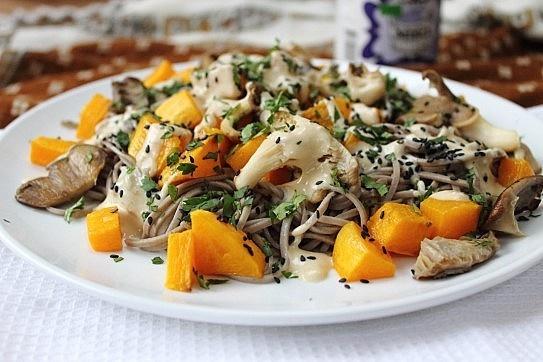 Soba Noodles With Swiss Chard-Miso Pesto Recipes — Dishmaps