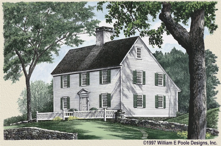 Classic new england saltbox west scituate pinterest for Classic new england home designs
