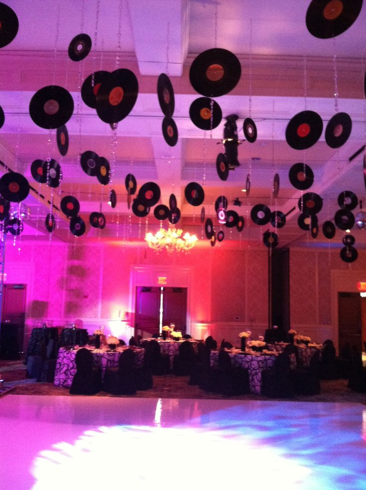 Motown themed birthday royal park hotel wedding design decor pi - Th party theme ideas ...