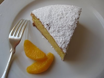 orange-scented olive oil cake | Mostly vegetarian | Pinterest