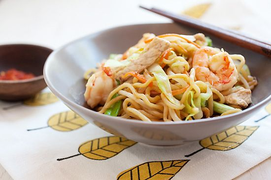 Chow Mein (Chinese Noodles) Recipe | Easy Asian Recipes at ...