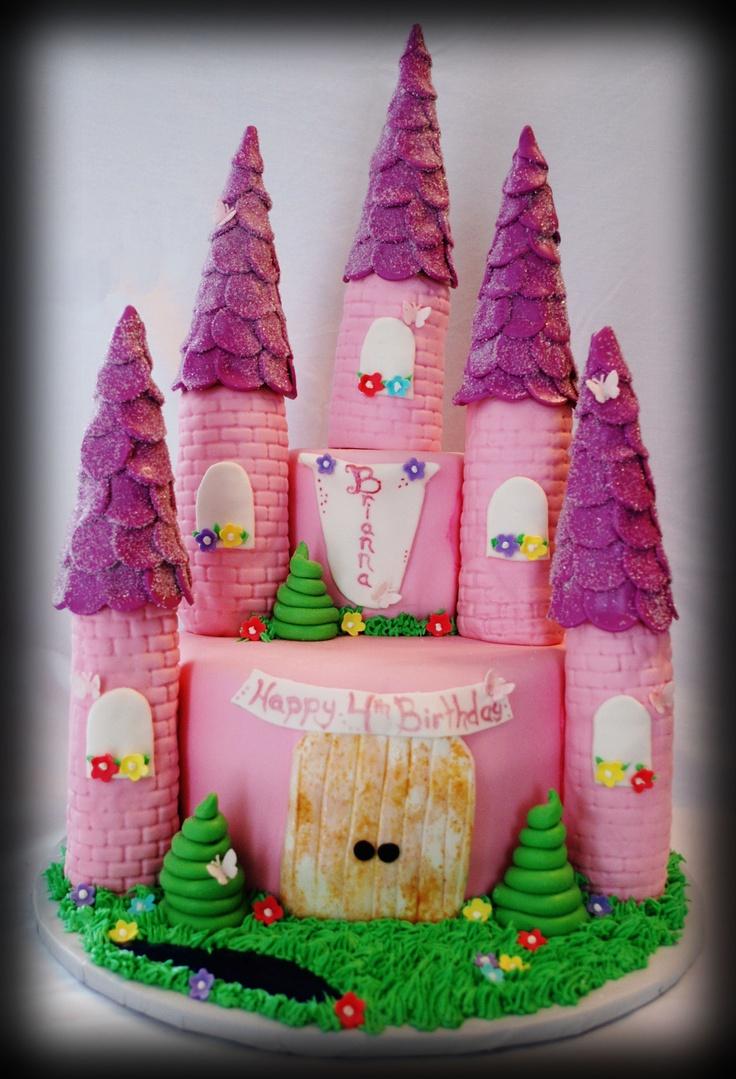 Castle Cake Gteau Chteau Pinterest Recipes — Dishmaps