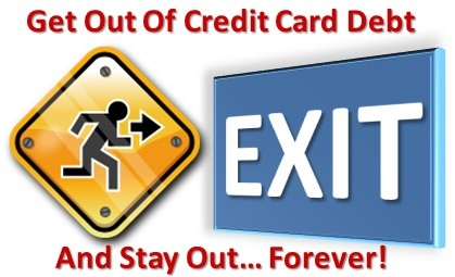 credit card debt joining military