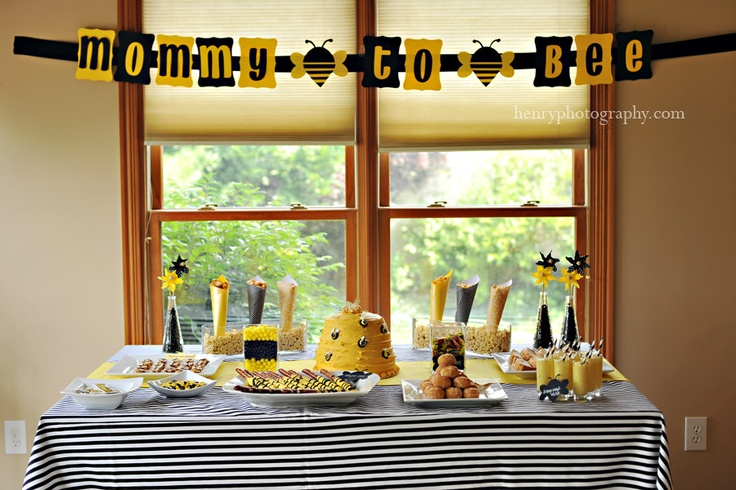 honey bee party theme baby shower pinterest