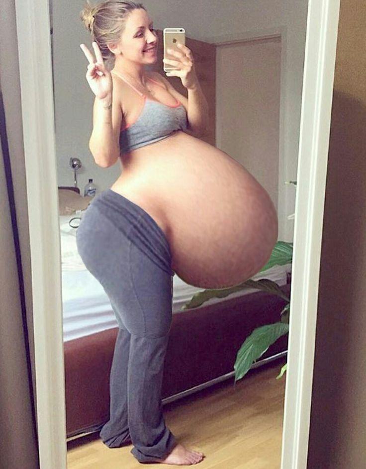 Pregnant Huge Tits Solo