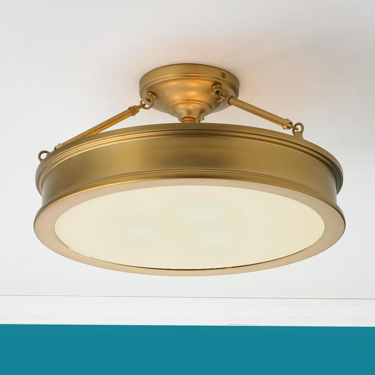 shades of light com traditional urban semi flush ceiling light. Black Bedroom Furniture Sets. Home Design Ideas