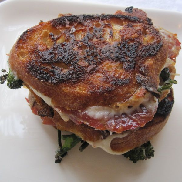 Grilled Eggplant, Broccoli Rabe, And Mozzarella Sandwich Recipes ...