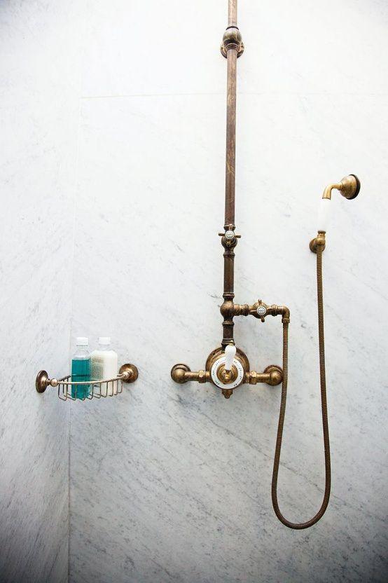 Brass Shower Fixtures My Style Pinterest