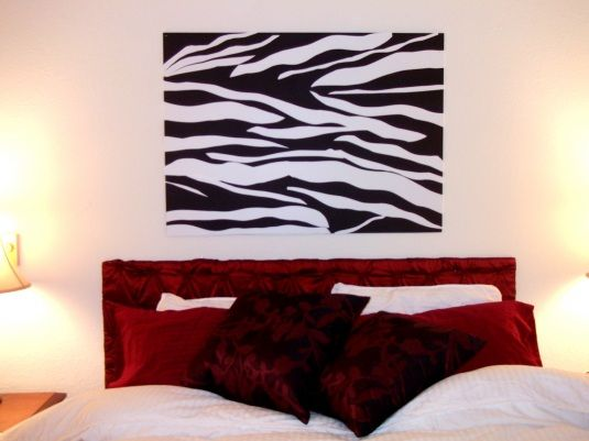 DIY zebra print