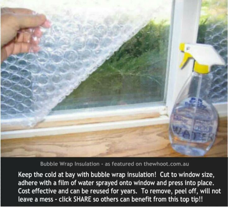 Image Result For How To Insulate Windows For Winter