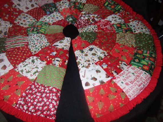 Crochet - Seasonal - Twelve Days of Christmas Tree Skirt