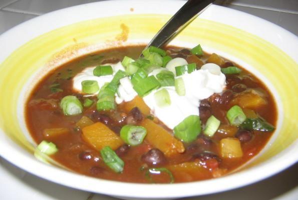 Butternut Black Bean Soup | VegWeb.com, The World's Largest Collection ...