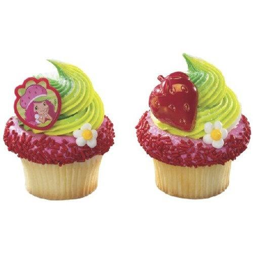 Strawberry Shortcake Cupcake Rings set of 12