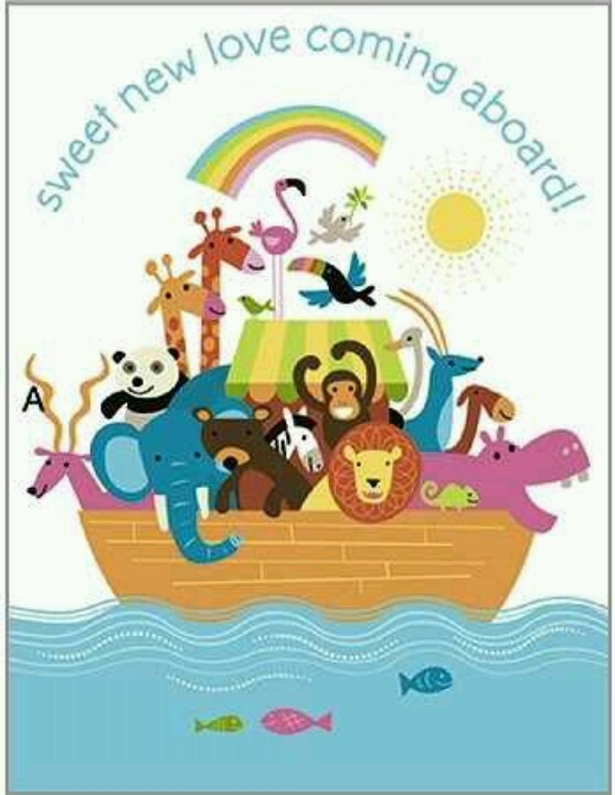 noah 39 s ark baby shower theme