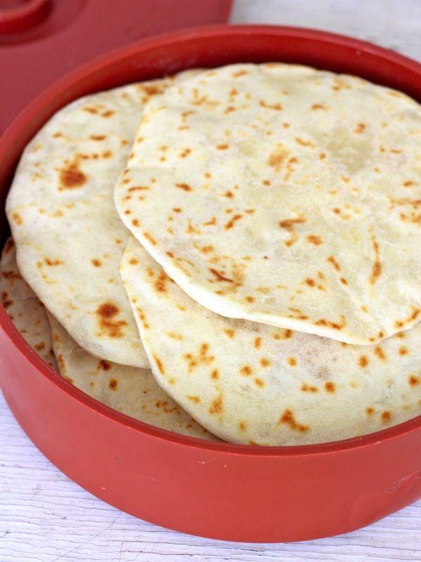Homemade Soft Flour Tortillas | Things to bake | Pinterest
