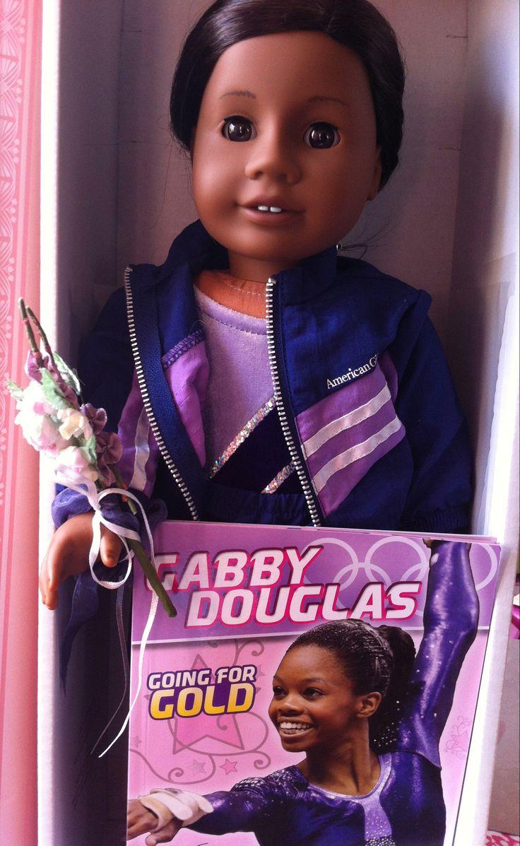 gabby douglas american girl doll all things doll pinterest