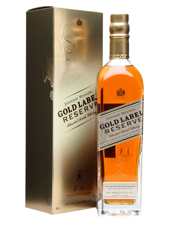 johnnie walker gold label cost
