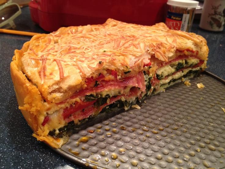Pizza Rustica Giada Pizza rustica, giada de laurentiis recipe. so good ...