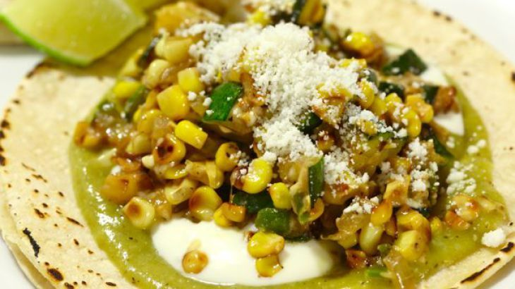 Charred Corn and Zucchini Tacos | Gluten Free Love | Pinterest