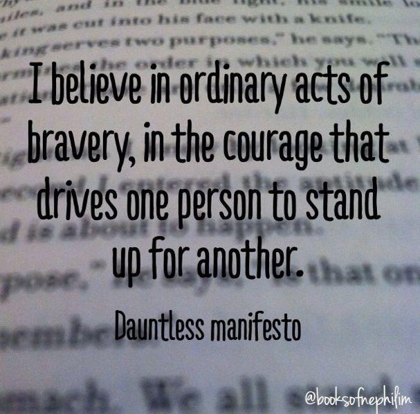 The Dauntless Manifest...