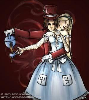 alice in wonderland mad hatter love story