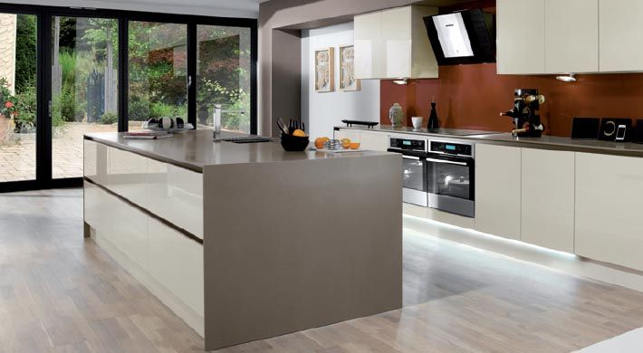 Magnet Kitchens  Integra Creme  Modern  Kitchen mood board  Pinte