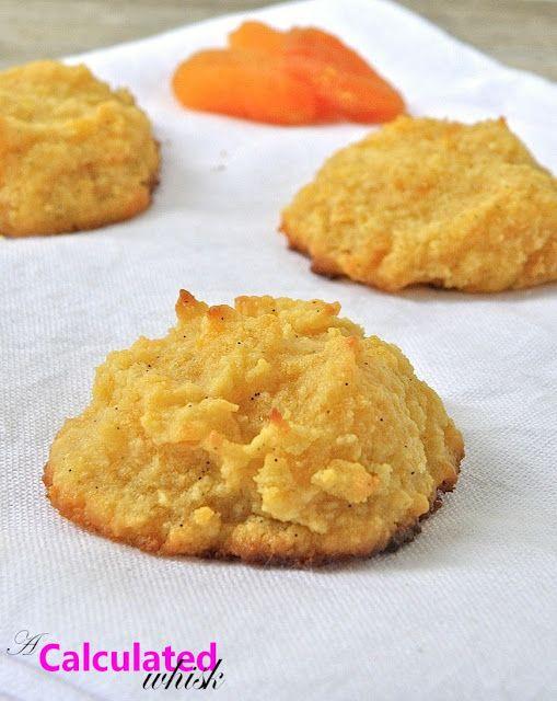 Vanilla-Apricot Cookies   #glutenfree #paleo