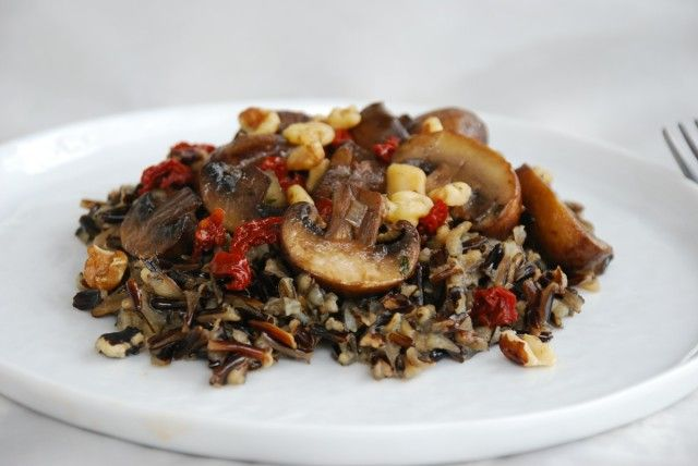 Wild Rice and Mushroom Salad | Approved Recipes | Pinterest