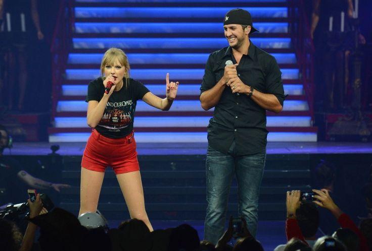 Taylor Swift And Luke Bryan   GRAMMY.com