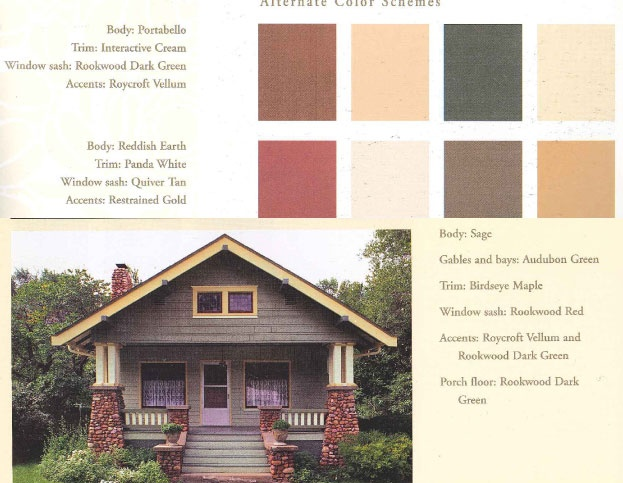 Exterior Bungalow Colors Exterior Paint Colors Pinterest