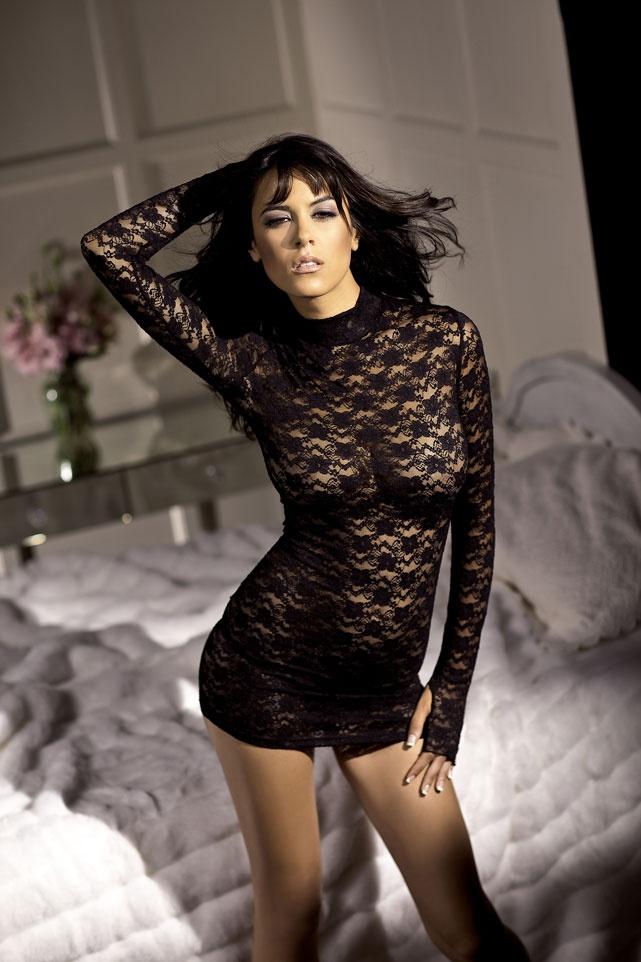 lace lingerie dress - photo #41